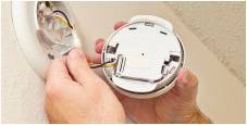 Installing Smoke and Carbon Monoxide Detector